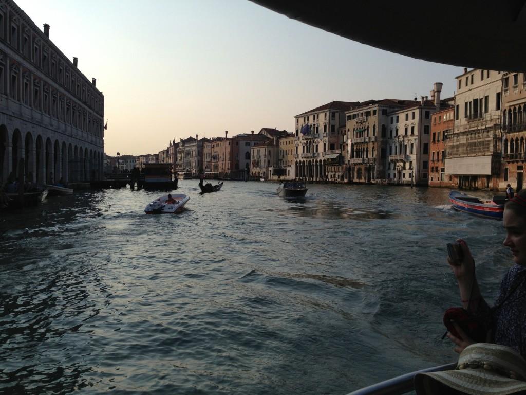 Buss i Venedig