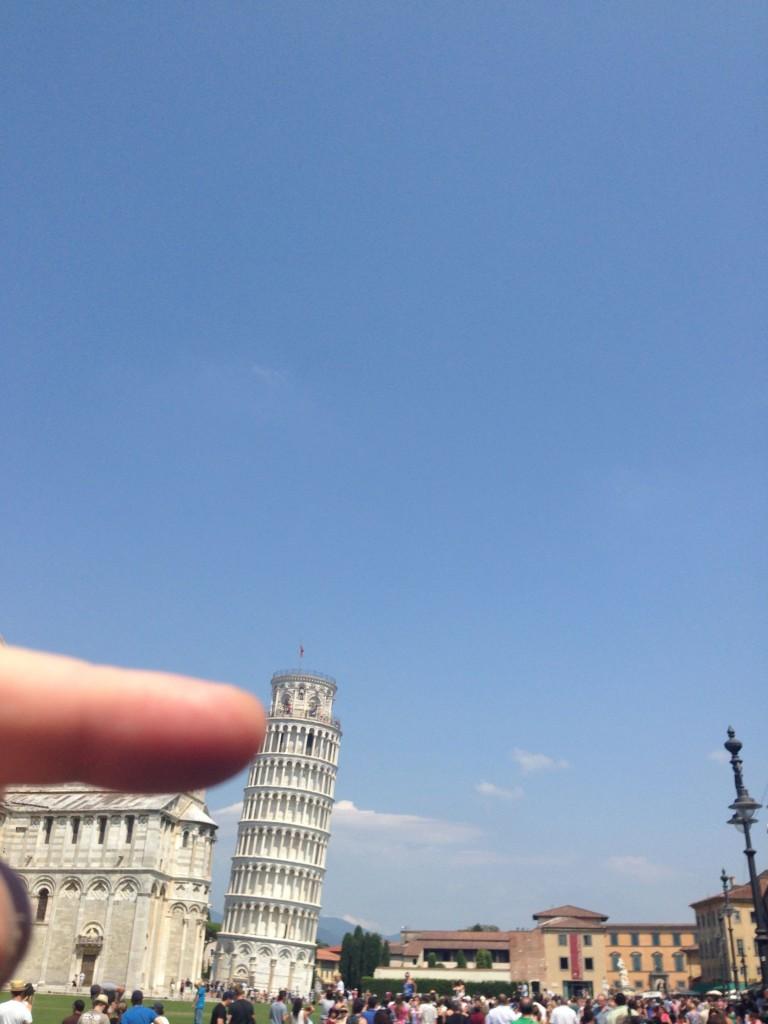 Obligatoriskt perspektivfoto